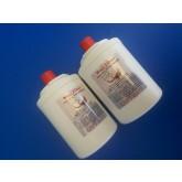 שתי יחידות פילטר מים פנימי למקרר אמנה תואם דגם UKF7003
