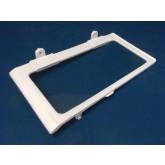 מדף לתא מזון סמסונג טריפל -זכוכית עם מסגרת פלסטיק