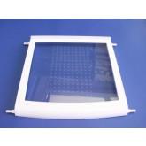 מדף LG- זכוכית עם מסגרת פלסטיק