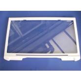 מדף זכוכית עם מסגרת פלסטיק למקררי שארפ
