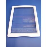 מדף מקפיא לאמנה- זכוכית עם מסגרת פלסטיק